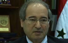 Syrian Deputy ForeignMinister Faisal Mekdad