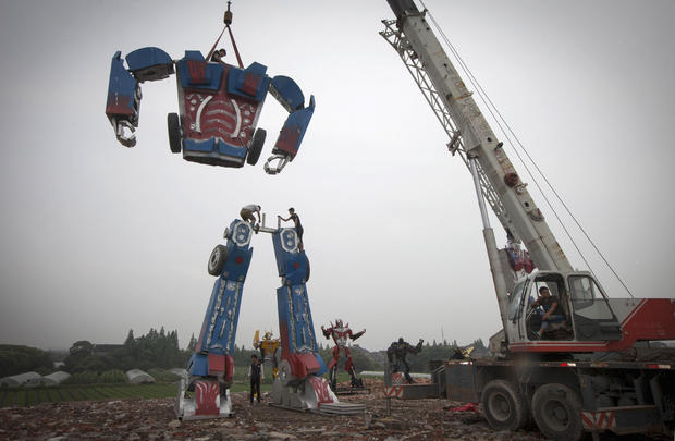 China's Transformers factory