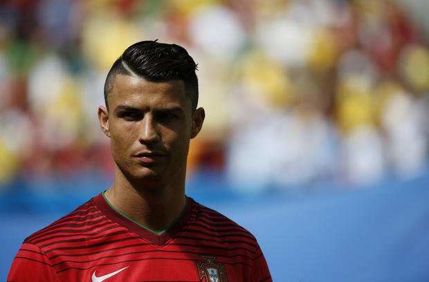 Ronaldo 2014 Hairstyle World Cup