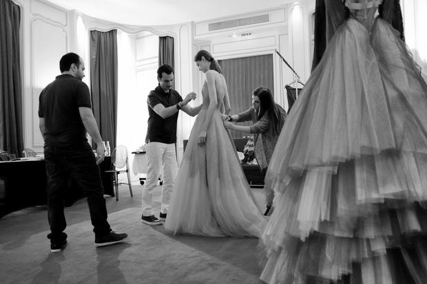 Behind the scenes at Paris Fashion Week
