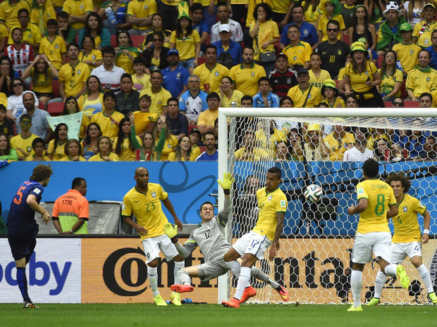 World Cup 2014: Brazil vs. Netherlands