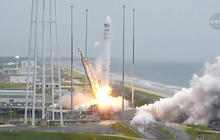 Video: Cygnus spacecraft launches, destined for ISS