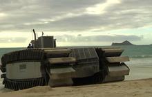 Watch: Marines show off new amphibious vehicle