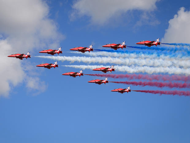 Flying high at the Farnborough Air Show