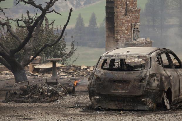 Wildfires rage across Washington state