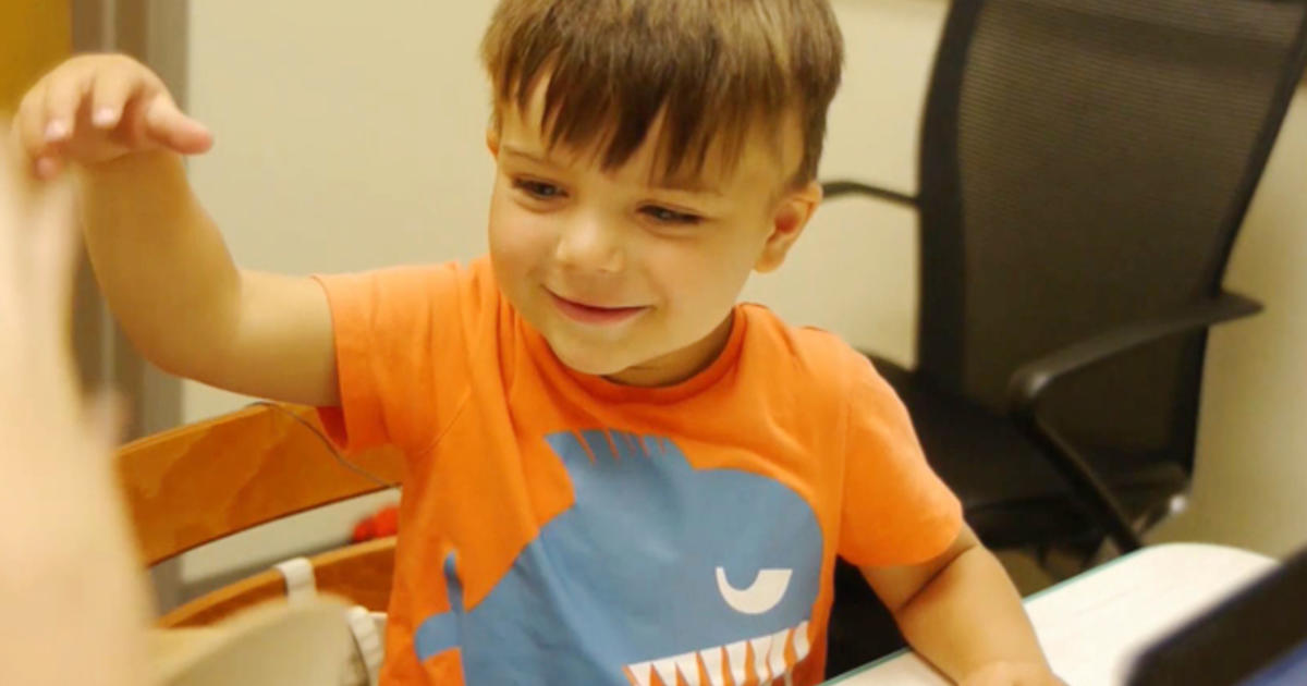 Experimental surgical implant helps deaf child hear ...