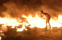 Violent protests erupt in West Bank