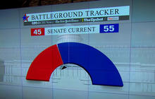 Battleground Tracker: Republicans narrowly positioned to take Senate in November
