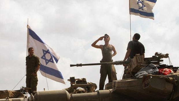 israel troops tanks generic