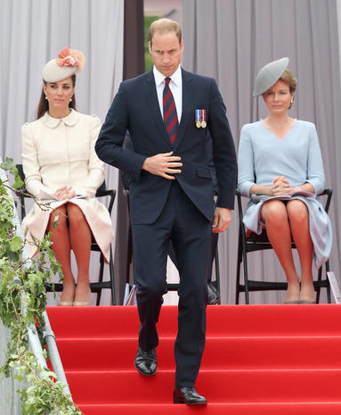 Royal family commemorates the start of World War I