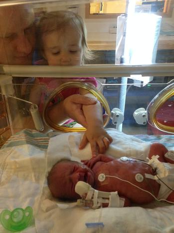 """Mighty Girl"" preemie gets ground-breaking heart surgery"
