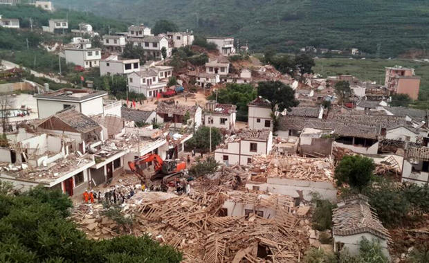 Earthquake cripples southwest China