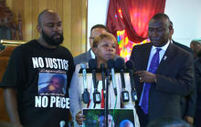 Parents of slain Missouri teen Mike Brown speak