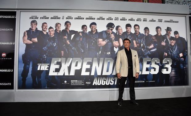 """The Expendables 3"" premiere"