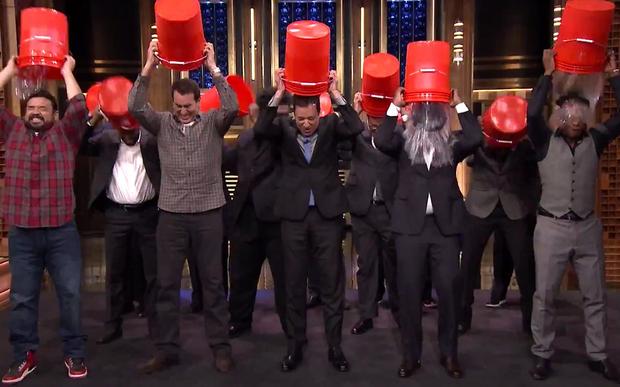 Stars take part in ALS Ice Bucket Challenge
