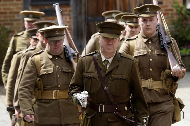 Alter egos: World War I re-enactors