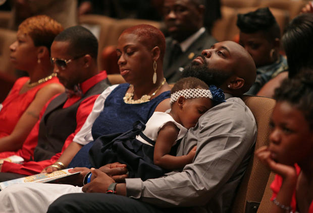Funeral for Michael Brown