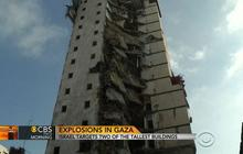Israel targets two tallest buildings in Gaza