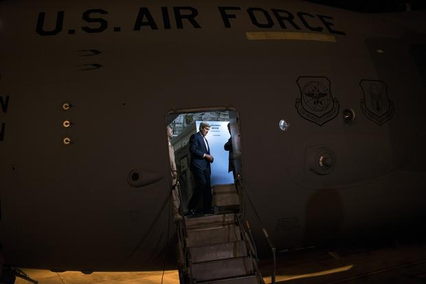 Sec. of State Kerry visits Iraq and the Middle East
