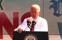 "Joe Biden in Iowa: U.S. must ""restore"" middle class economic security"
