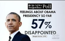Pres. Obama approval ratings down heading into midterm elections