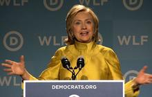 """Hillary Clinton urges women to turn out for """"crucial"""" 2014 midterms"""