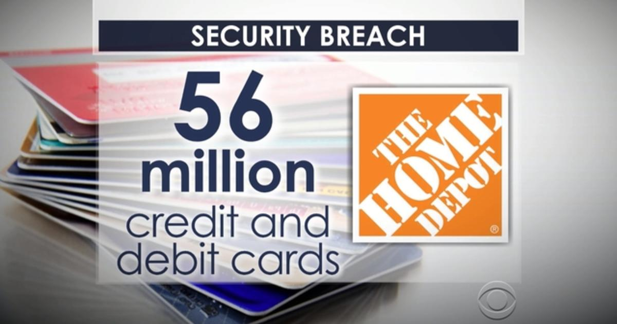 Home depot breach puts 56 million cards at risk videos for 0 home depot credit card