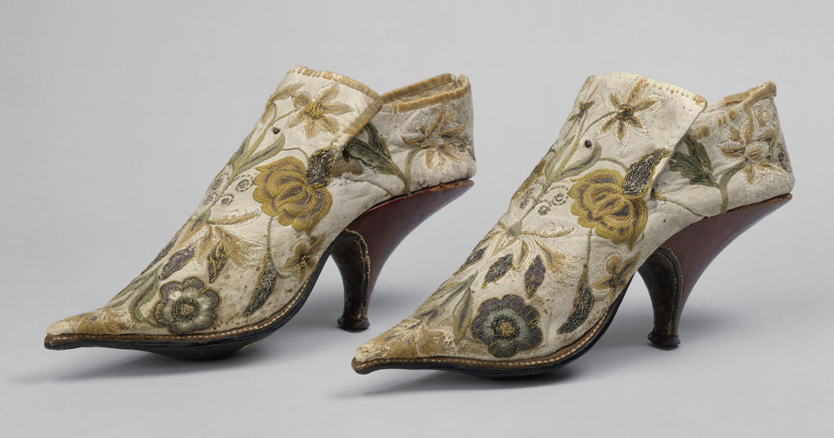 Stepping out: A history of high heels - CBS News