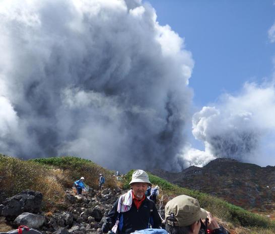 Deadly eruption in Japan