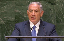 Netanyahu speaks to the UN General Assembly