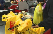 California becomes first state to prohibit plastic bags