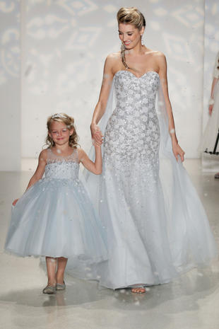 Wedding dresses fit for a (Disney) princess