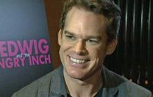 """""""Hedwig"""" cast, crew welcome """"Dexter"""" star Michael C. Hall to Broadway show"""