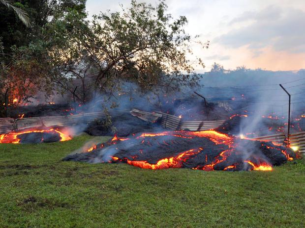夏威夷熔岩