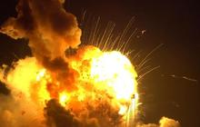 Watch: Antares rocket explodes after liftoff
