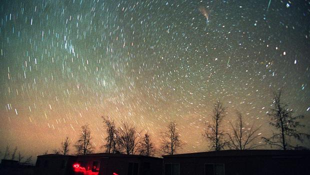 Leonids Meteor Shower Time The Leonid Meteor Shower Seen