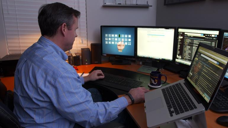 Brian Krebs office