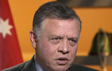 King Abdullah on core issue of mideast unrest