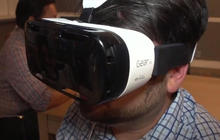 Samsung jumps headgear-first into virtual reality