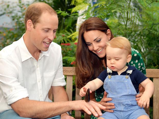 The littlest royals