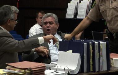 Suspect's bizarre outburst stuns courtroom