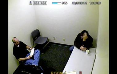 Crime scene manipulation? Todd Winkler on the moments after killing wife