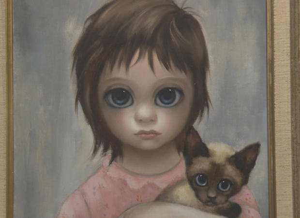Sherm Donor: Artist Margaret Keane - Big Eyes  |Artist Keane Big Eyes