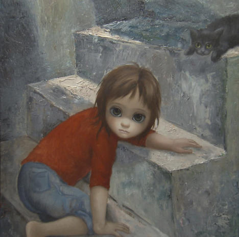 Pin by Jessica Hope Hankins Art on Famous Artists (With ...  |Artist Keane Big Eyes