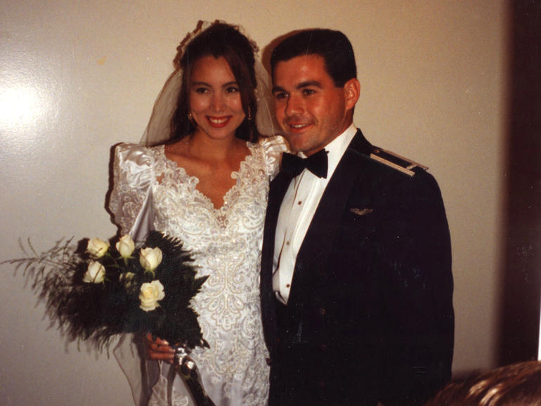 Todd Winkler with his previous wife, Catherine.