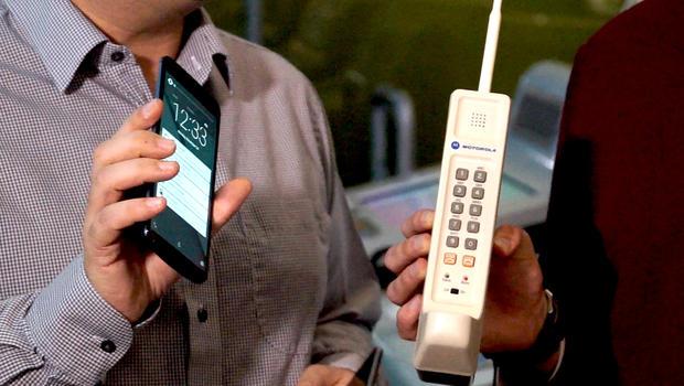 Cellular Phone Evolution First Cellular Phone