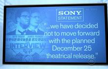 "Sony cancels release of "" The Interview"""