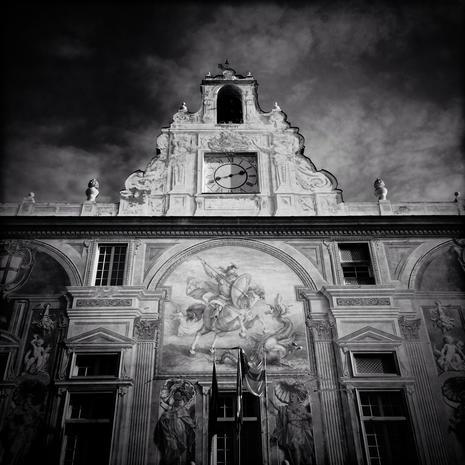 Seeking quiet in Genoa, Italy