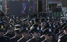 NYPD officer funeral reveals rifts in police force