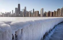 冬季天气覆盖美国